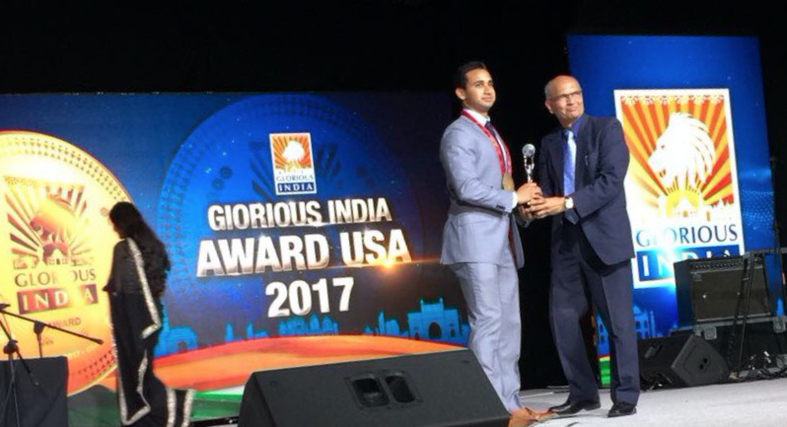 Mr.India/USA award to help promote trade between USA and India.