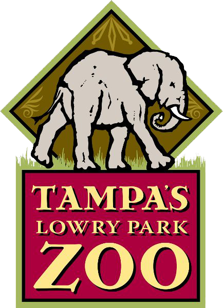 Tampa's Lowry Park Zoo Logo