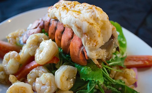 Twin Lobster Tail