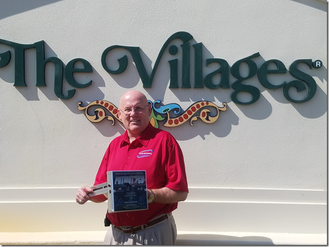 Image of Edward Stidd, the founder of The Villages Indoor Air Quality