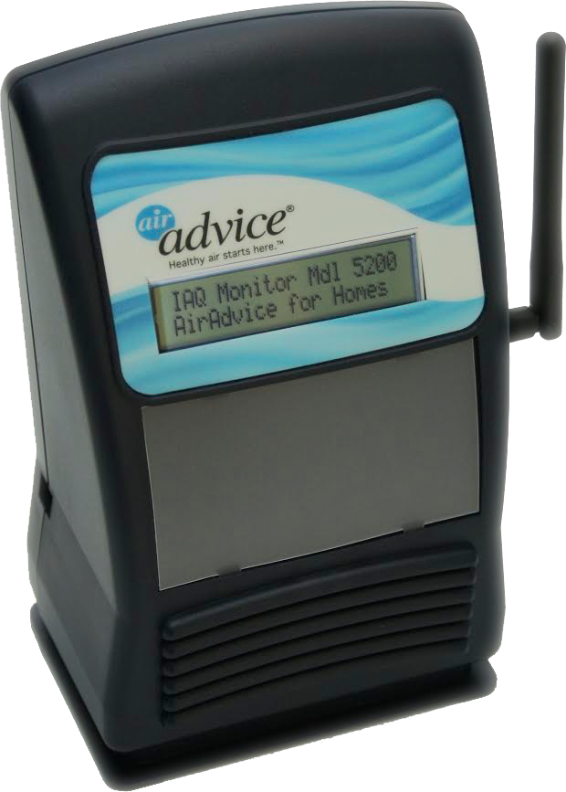 Air Advice M5200 Indoor Air Quality Monitor