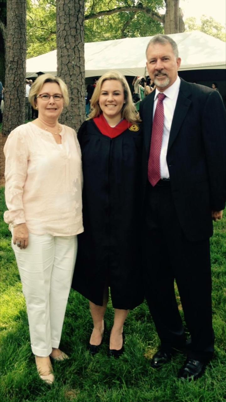 Rev. June & Steve with daughter Rev. Emily Edwards