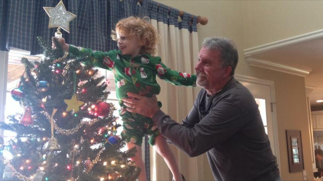 Steve with grandson Waylon