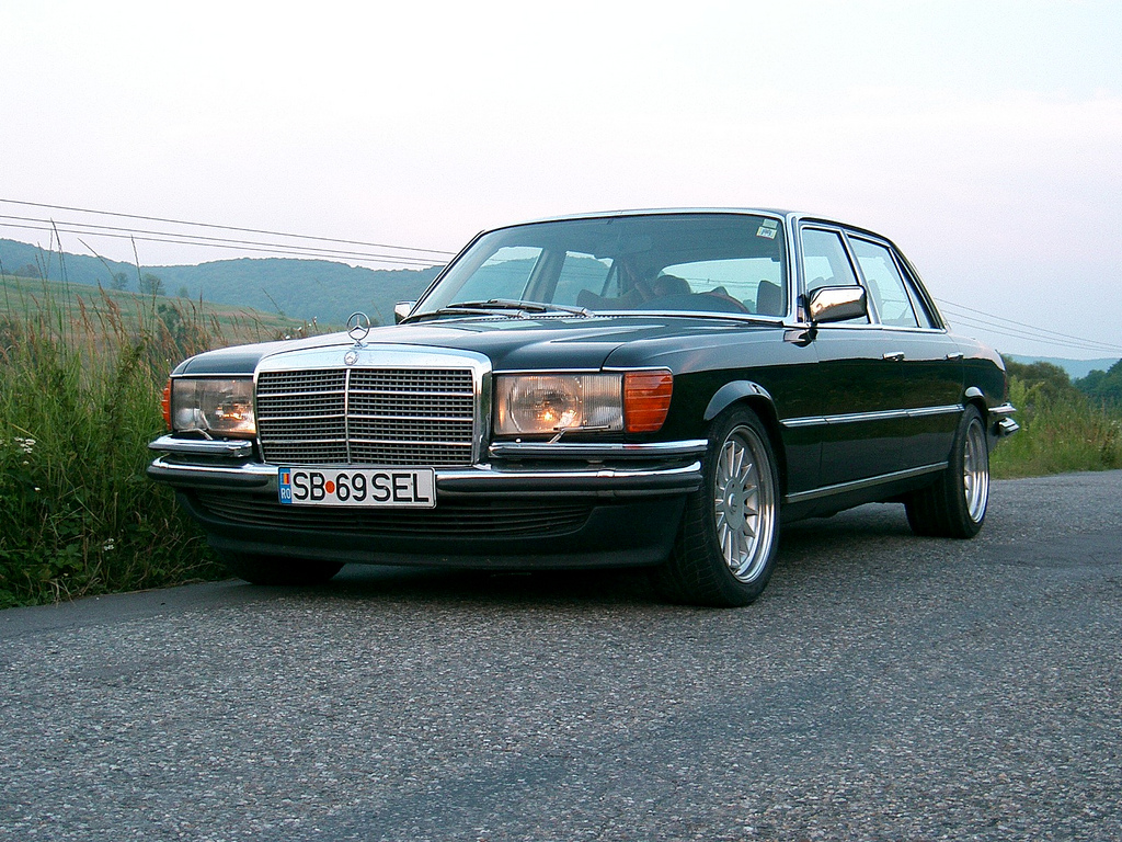Mercedes w116 450sel 6.9 liter