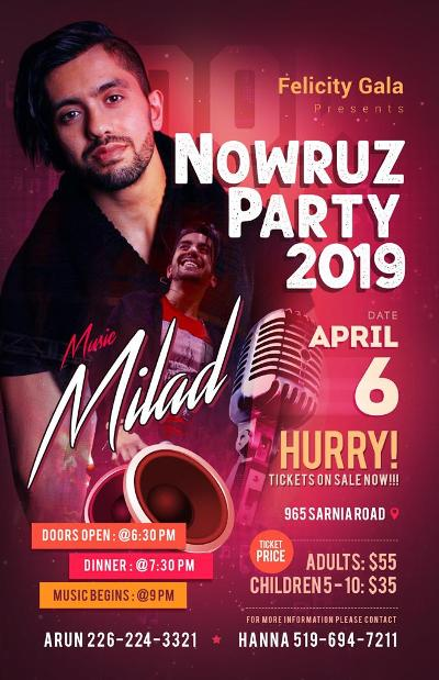 OnStage Direct: Nowruz Party 2019