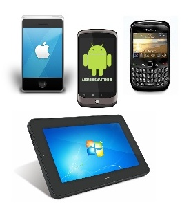 Smartphones and tablet