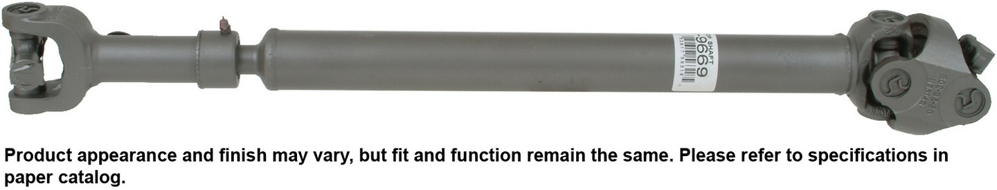 Cardone 659669 Drive Shaft Fits 1990-1990 Jeep Wagoneer