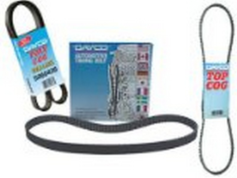 Image of Dayco 15345 Accessory Drive Belt Fits 1983-1987 Ford E-250 Econoline Club Wagon