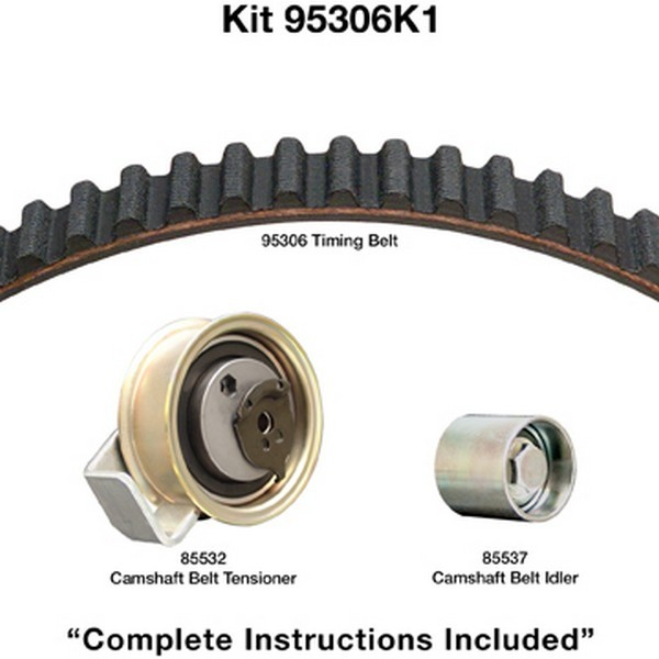 Dayco 95306K1 Engine Timing Belt Kit Fits 2001-2005 Volkswagen Passat