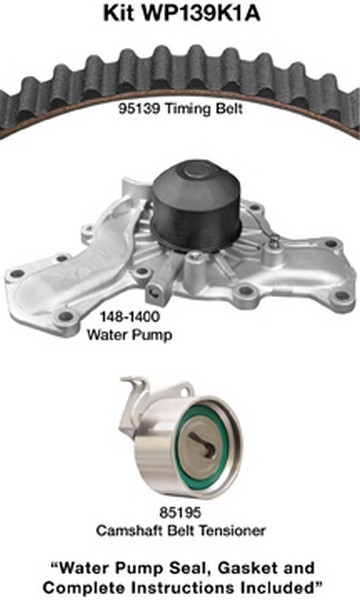 Dayco WP139K1A Engine Timing Belt Kit with Water Pump Fits 1987-1987 Dodge Royal Mini Ram