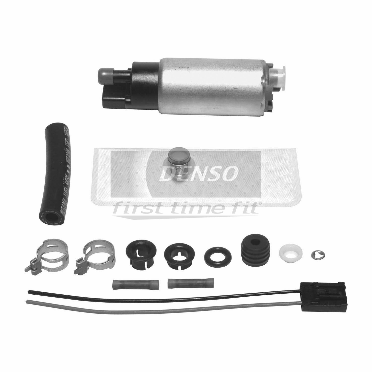 Denso 9500172 Fuel Pump and Strainer Set Fits 1997-1999 Ford Econoline Super Duty