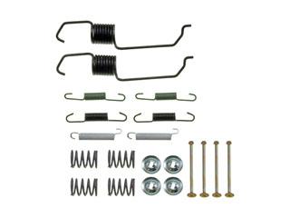 Fits Mazda MPV 2000-2003 Brake Hardware Kit; Drum Brake