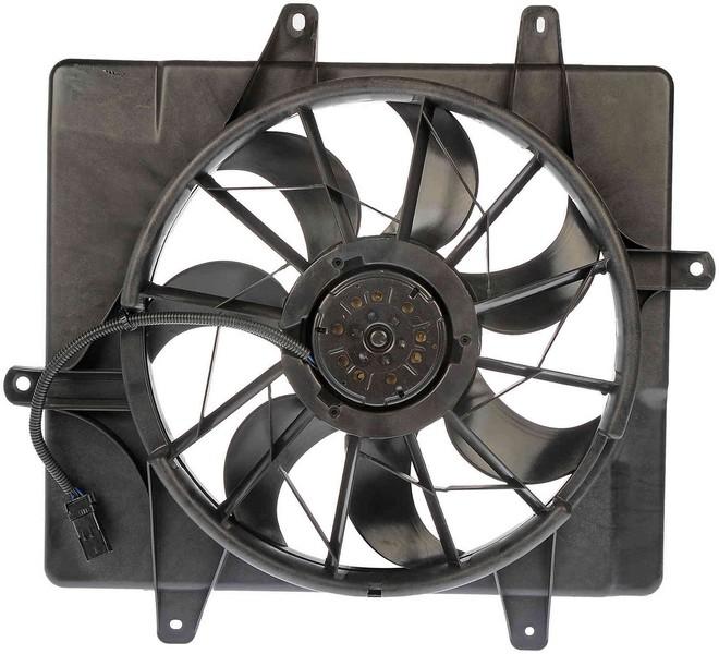 Dorman 620052 Engine Cooling Fan Assembly Fits 2006-2007 Chrysler PT Cruiser