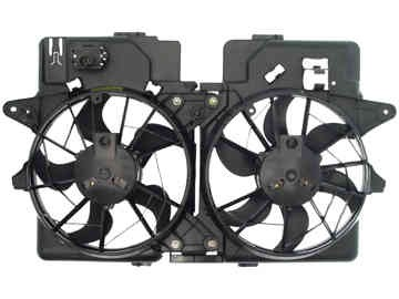 Dorman 620132 Engine Cooling Fan Assembly Fits 2001-2004 Ford Escape