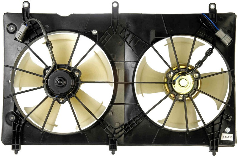Dorman 620257 Engine Cooling Fan Assembly Fits 2003-2007 Honda Accord