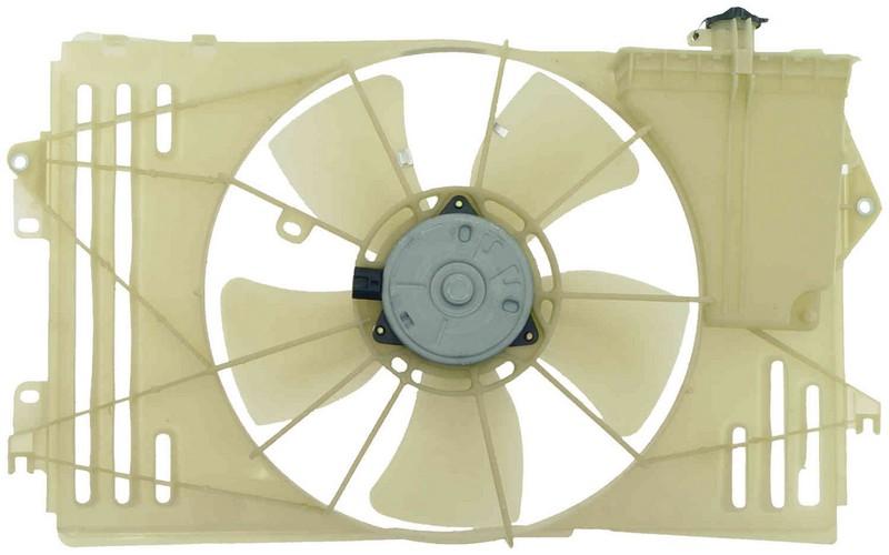 Dorman 620546 Engine Cooling Fan Assembly Fits 2005-2006 Toyota Corolla