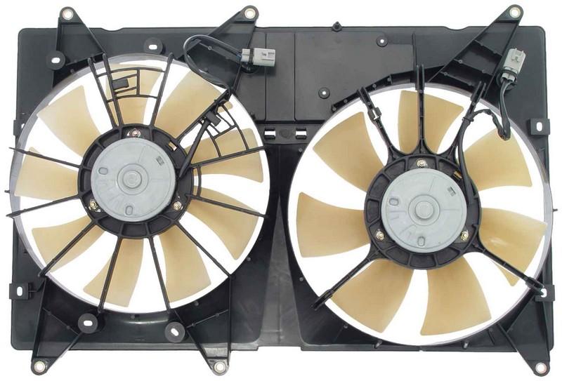 Dorman 620550 Engine Cooling Fan Assembly Fits 2001-2007 Toyota Highlander