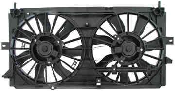 Dorman 620616 Engine Cooling Fan Assembly Fits 2000-2003 Chevrolet Impala