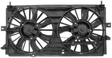 Dorman 620629 Engine Cooling Fan Assembly Fits 2000-2003 Chevrolet Impala