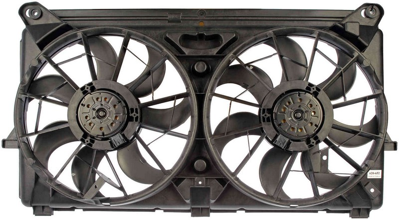 Dorman 620652 Engine Cooling Fan Assembly Fits 2005-2006 Cadillac Escalade
