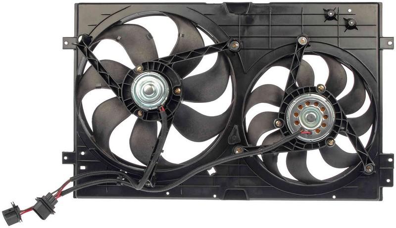 Dorman 620799 Engine Cooling Fan Assembly Fits 1999-2004 Volkswagen Golf