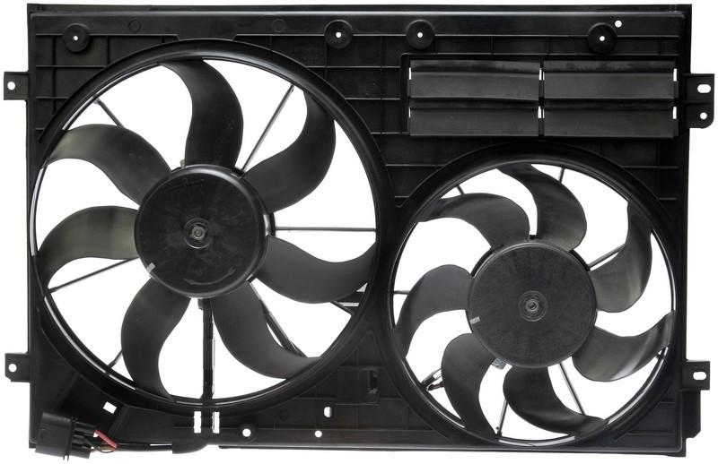 Dorman 620805 Engine Cooling Fan Assembly Fits 2005-2009 Volkswagen Jetta