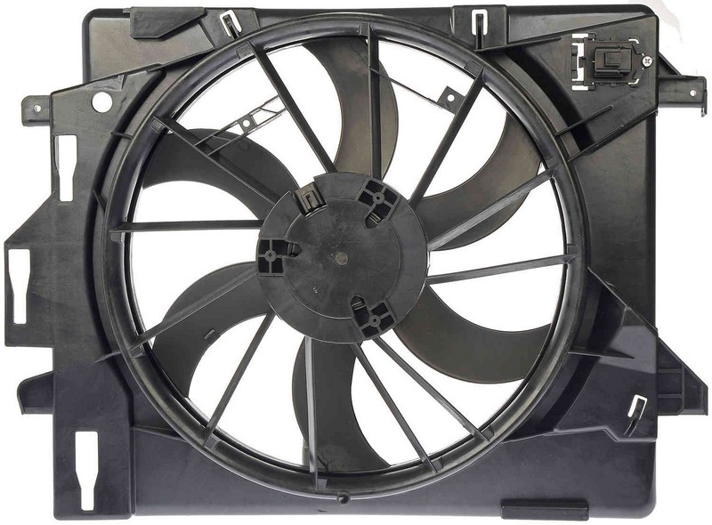 Dorman 621028 Engine Cooling Fan Assembly Fits 2011-2013 Chrysler Town  Country