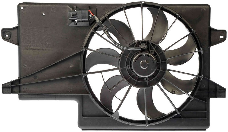 Dorman 621043 Engine Cooling Fan Assembly Fits 2008-2010 Ford Focus