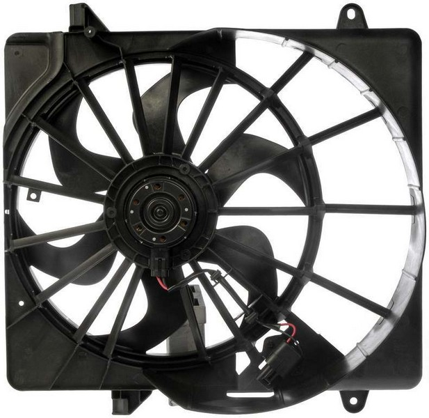 Dorman 621391 Engine Cooling Fan Assembly Fits 2011-2012 Jeep Liberty