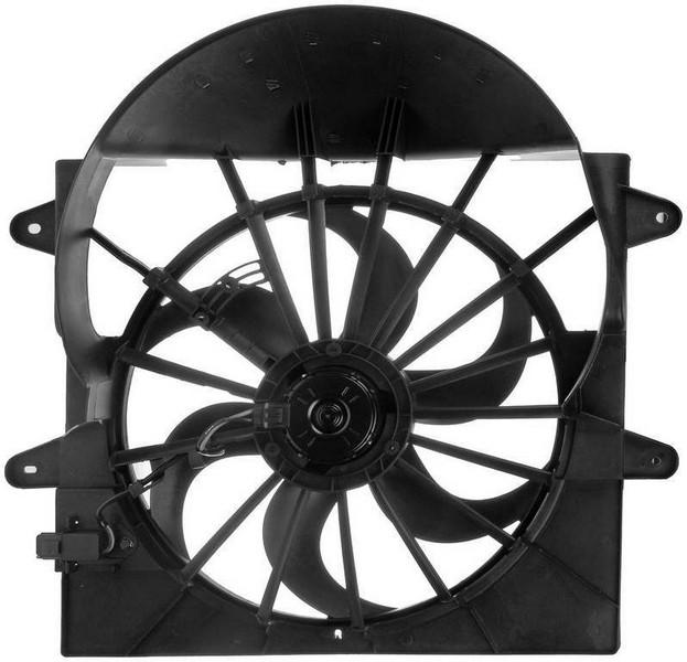 Dorman 621403 Engine Cooling Fan Assembly Fits 2008-2010 Jeep Commander