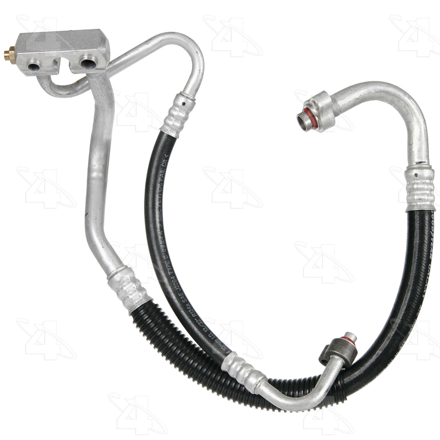 Four Seasons 56764 A/C Refrigerant Discharge / Suction Hose Assembly Fits 2000-2004 Ford Focus 56764