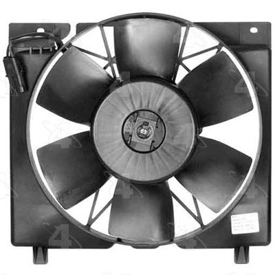Four Seasons 75201 Engine Cooling Fan Assembly Fits 1990-1996 Jeep Cherokee