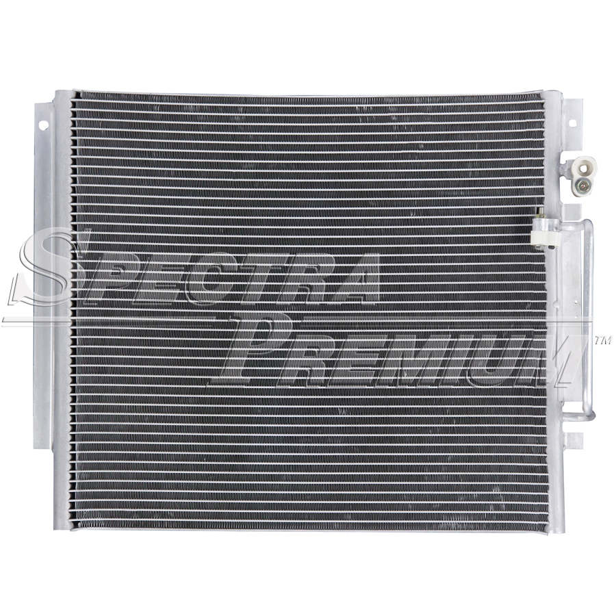 Image of Spectra 73014 A/C Condenser Fits 2009-2012 Chevrolet Colorado