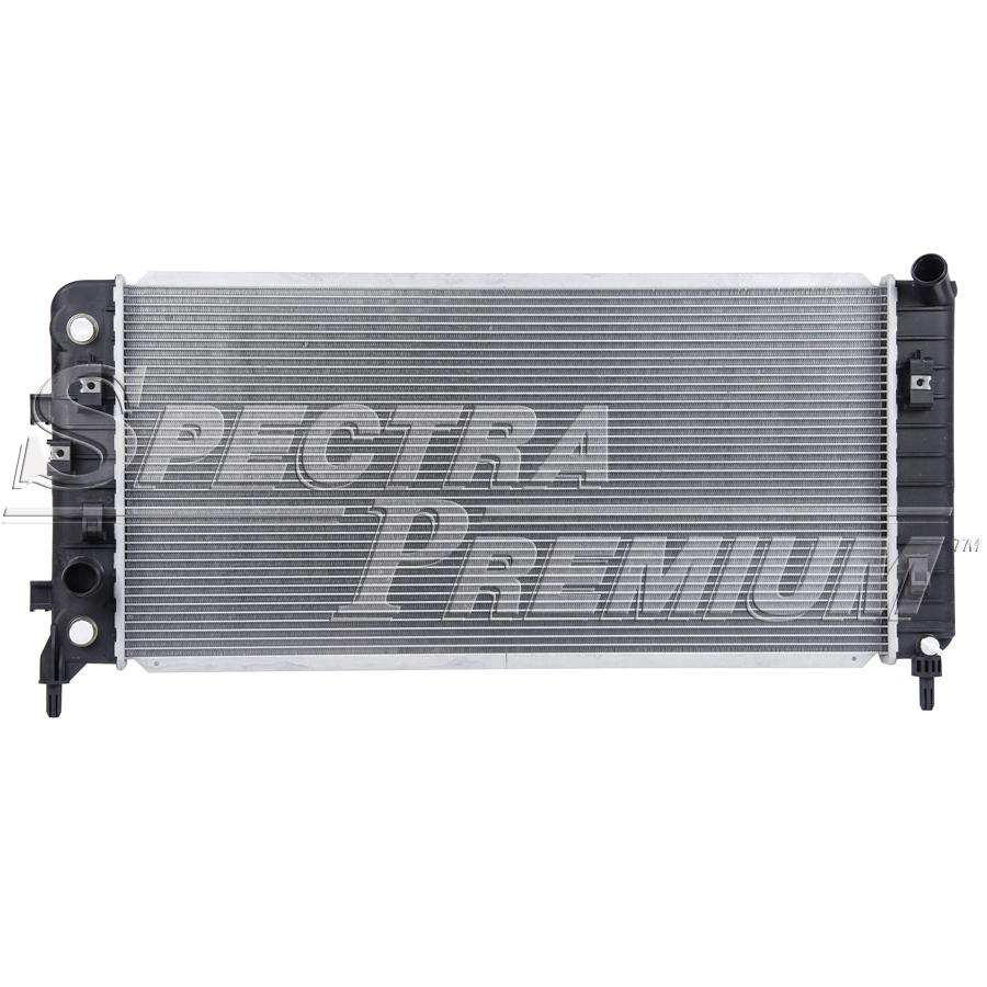 Spectra CU2827 Radiator Fits 2005-2009 Buick Allure CU2827