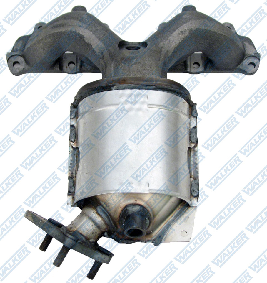 Walker 82444 Exhaust Manifold with Integrated Catalytic Converter Fits 1996-1997 Honda Civic del Sol