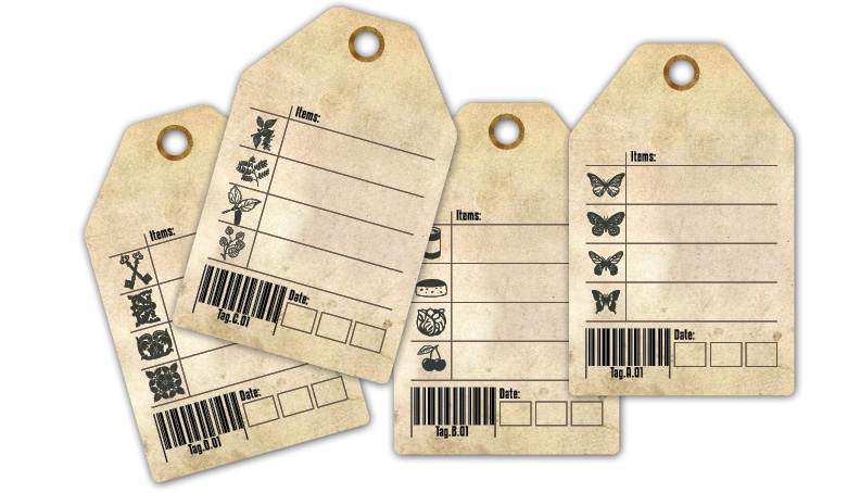 More Printable Tags:Vintage Catalog Style