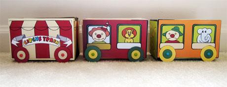 Make your own Tea Box Circus Train