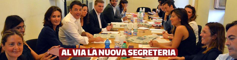 La nuova Segreteria