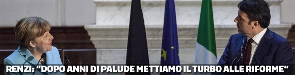 Merkel - Renzi