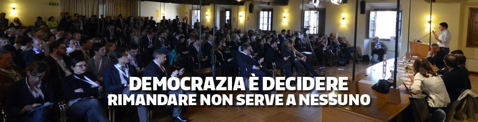 Democrazia è decidere