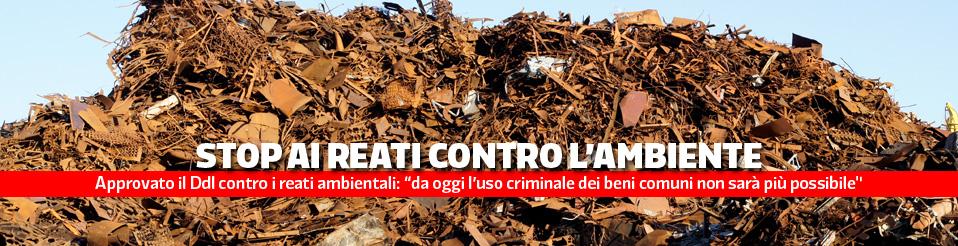 Ddl reati ambientali