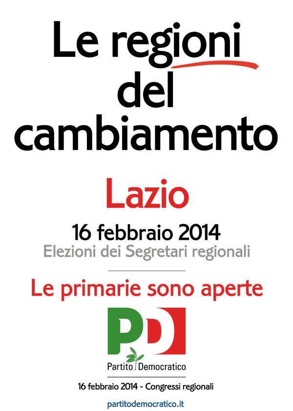 Lazio - Partito Democratico