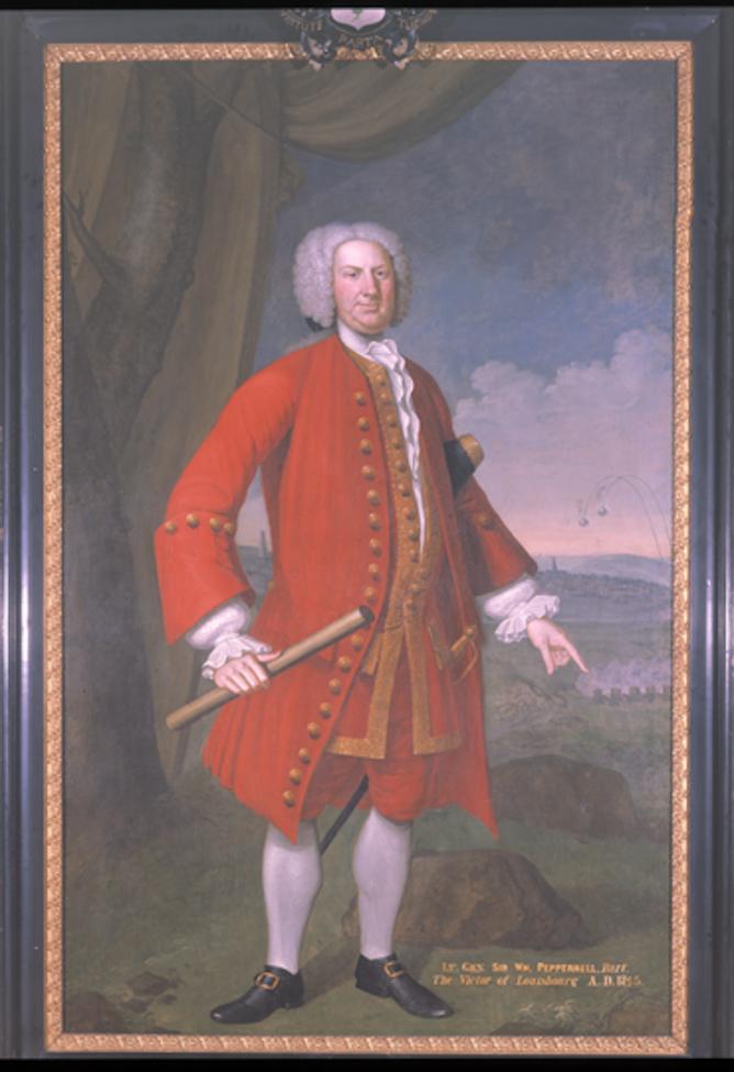 Portrait of Sir William Pepperrell