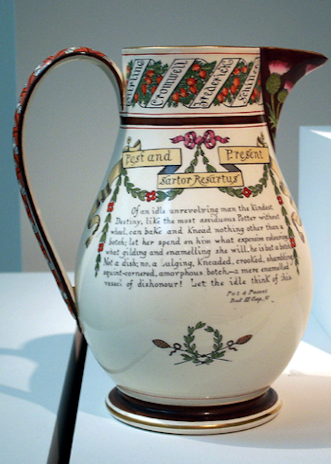 Thomas Carlyle pitcher
