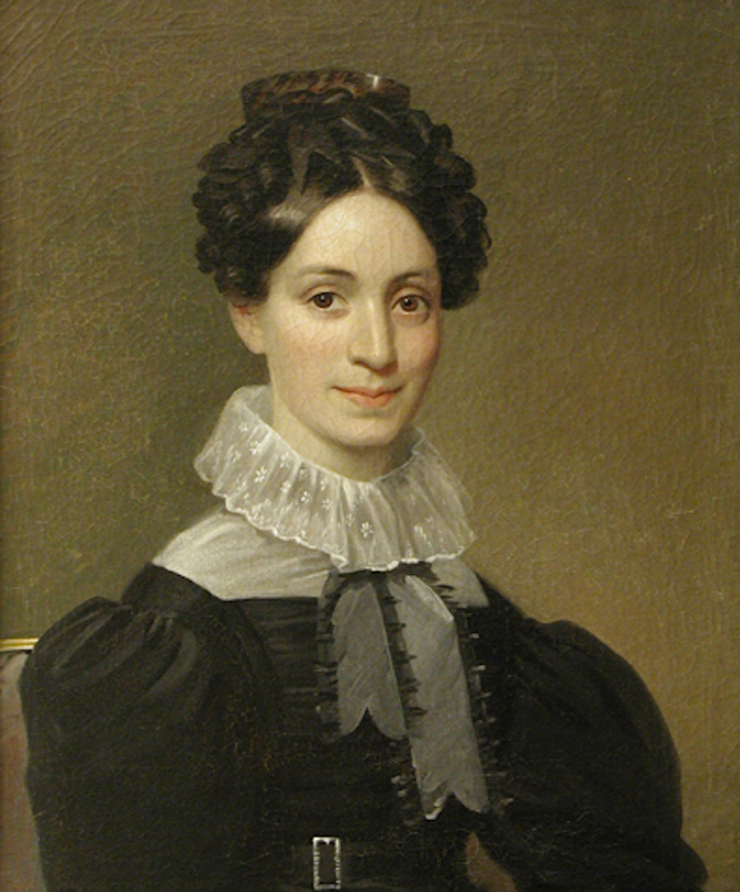 Portrait of Catherine Johnson Pierce
