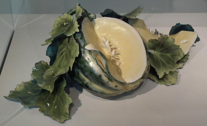 Yellow Brookshaw Melon Composition