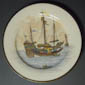 Plate with Chinese Junk