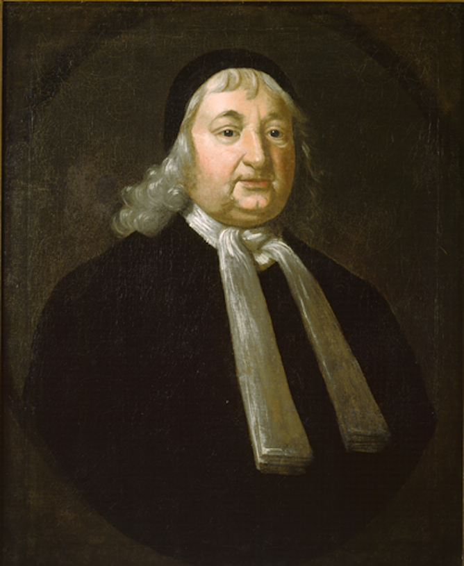 Portrait of Judge Samuel Sewall