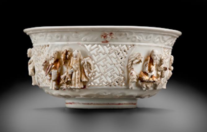 Openwork bowl