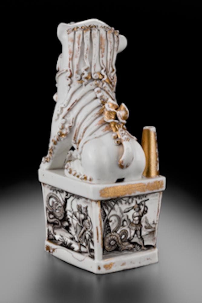Incense holder (Buddha Lion)